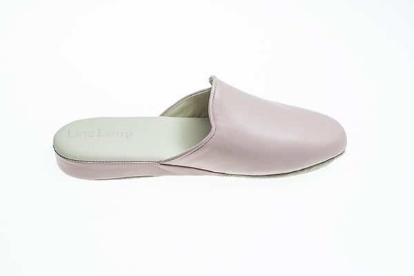 Line Loup, women, Linette, slipper, leather, light pink