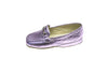 Line loup, slipper, metallic pink, loafer, Jeanne, mors, kids, calfskin, Timeless Collection