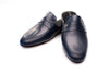 Line Loup, slipper, calfskin, men, Jacques, navy