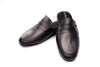Line Loup, slipper, men, calfskin, Jacques, black