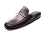 Jacques, calfskin, black, mule, Line Loup, men