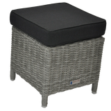 ARMADALE - Outdoor Wicker Ottoman Footstool