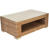 BEAUMARIS - Luxury Outdoor Wicker Rectangle Coffee Table