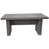 Armadale - Outdoor Wicker Rectangle Table - DECOR STAR