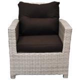CAMBERWELL - Single Seater Outdoor Wicker Sofa