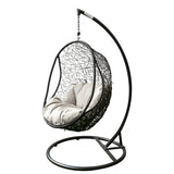 Fitzroy Hanging Chair Swing Black
