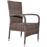 DONVALE - Outdoor Wicker Stacking Armchair