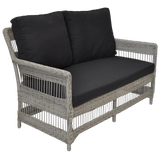 EAGLEMONT - Outdoor Wicker Double Seater Sofa