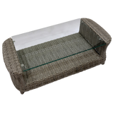 GLEN IRIS - Outdoor Wicker Coffee Table