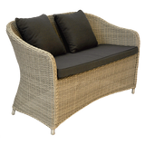 PRESTON - Outdoor Wicker 2 Seater Armchair