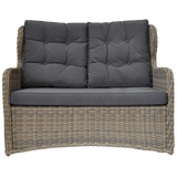 TOORAK - Outdoor Wicker Double Seater Sofa