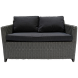 ELWOOD - Outdoor Wicker 2 Seater Sofa