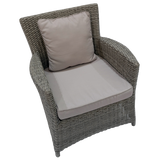 GLEN IRIS - Outdoor Wicker Single Seat Sofa
