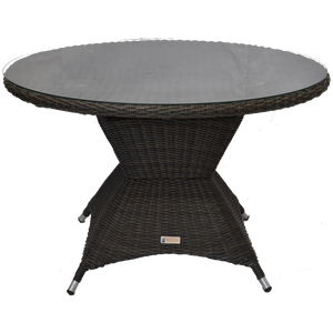 Outdoor Wicker Round Dining Table