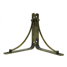 2x ARCH 195 - Wall Mounted Shelf Brackets with hardware