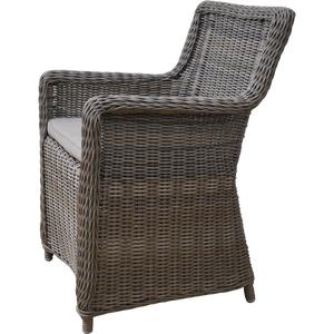 ASHBURTON - Outdoor Synthetic Wicker Dining Chair - Furniture Star Direct