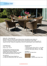 Clifton Hill 7 Piece Outdoor Wicker Large Round Table Dining Set Flyer