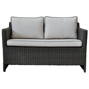 CARLTON - Outdoor Wicker Double Seater Sofa