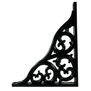 2x CLASSIC BAROQUE 1823 - Bookshelf brackets with hardware
