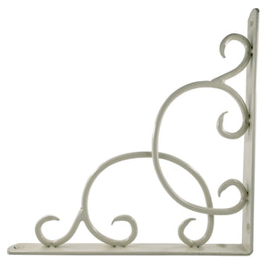 2x CURLY 230 - Wall Mounted Shelf Brackets with hardware - Furniture Star Direct