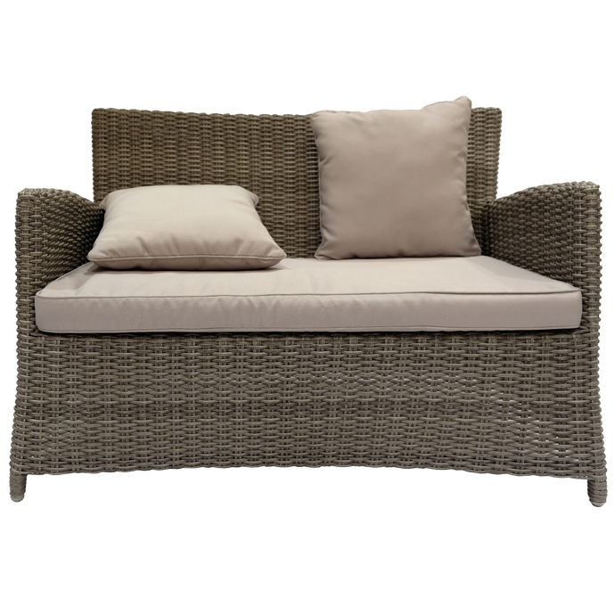 Glen Iris Outdoor Wicker Double Sofa