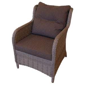Mont Albert Outdoor Wicker Single Sofa