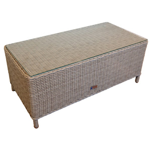 Mont Albert Outdoor Wicker Rectangle Table