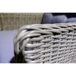 ESSENDON Outdoor Wicker Armchair Close Up