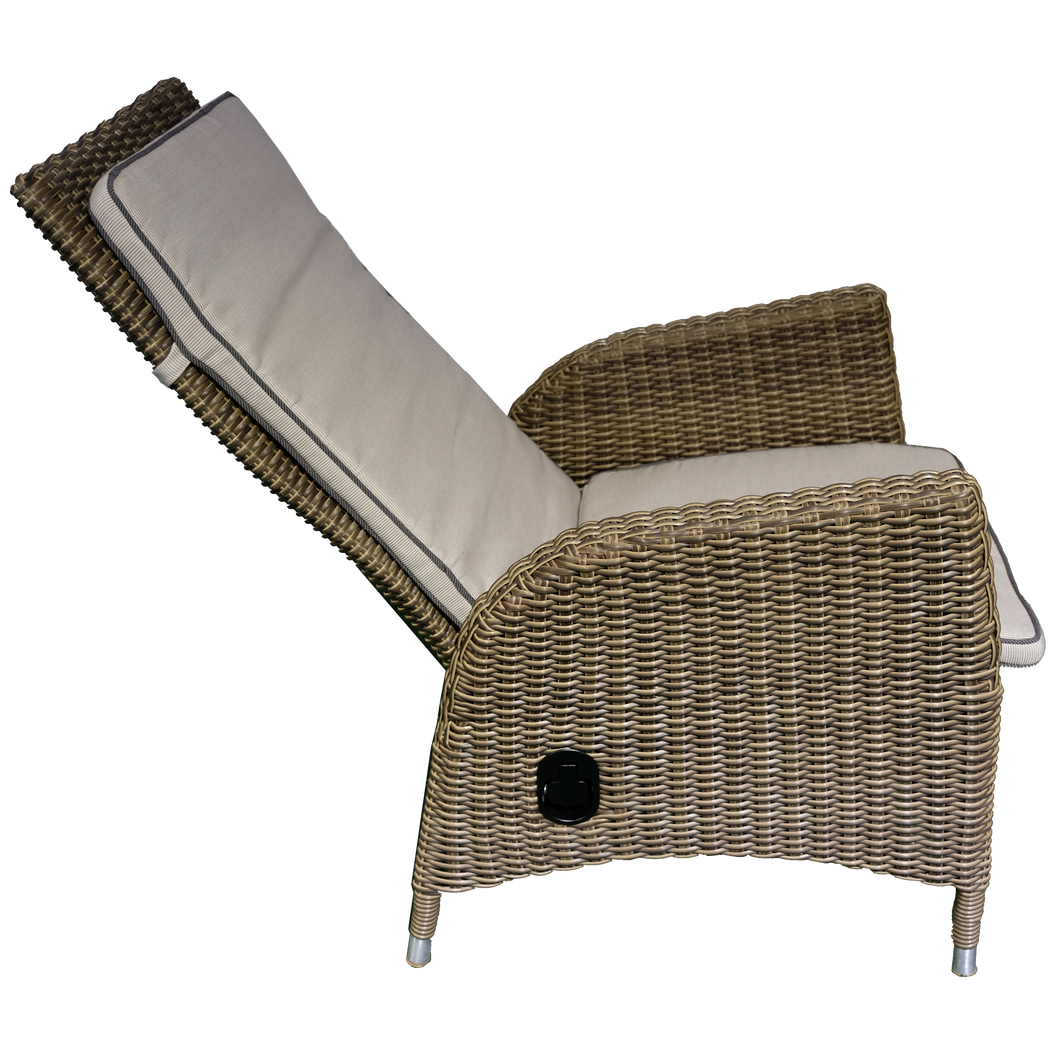 Kew Outdoor Wicker Recliner Chair
