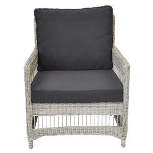 Eaglemont Outdoor Wicker Single Seater Sofa