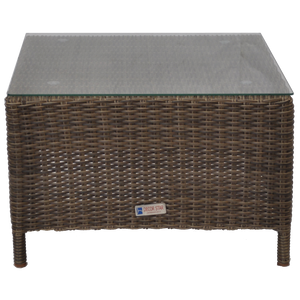 Kew Outdoor Wicker Square Coffee Table