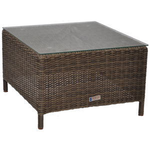 KEW - Outdoor Wicker Square Coffee Table - Furniture Star Direct