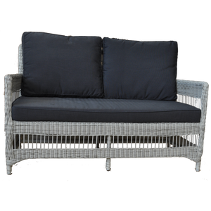 Eaglemont Outdoor Wicker Double Seater Sofa