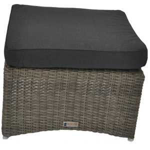 BRIGHTON - Outdoor Wicker Ottoman