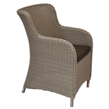 EPPING - Outdoor Wicker Turin Single Seater Armchair - Furniture Star Direct