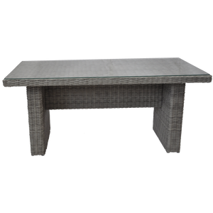Armadale Outdoor Wicker Rectangle Dining Table