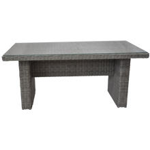 ARMADALE - Outdoor Wicker Rectangle Dining Table - Furniture Star Direct
