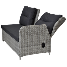 Armadale Outdoor Wicker Corner Recliner Lounge
