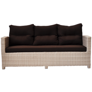 Camberwell Outdoor Wicker Triple Seat Sofa