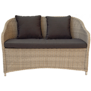 Preston Wicker Double Seater Sofa