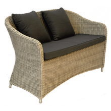 PRE-ORDER PRESTON - Outdoor Wicker 2 Seater Armchair - Furniture Star Direct