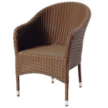 CLIFTON HILL - Outdoor Wicker Stacking Chair (cushion included) - Furniture Star Direct