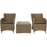 Epping 3 Piece Outdoor Wicker Lounge Set - DECOR STAR