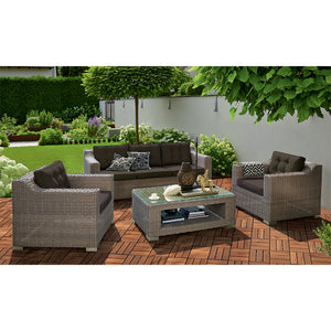 BEAUMARIS - Luxury 5 Seat Outdoor Lounge Setting