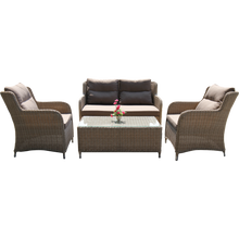 Mont Albert Outdoor Wicker Lounge Set