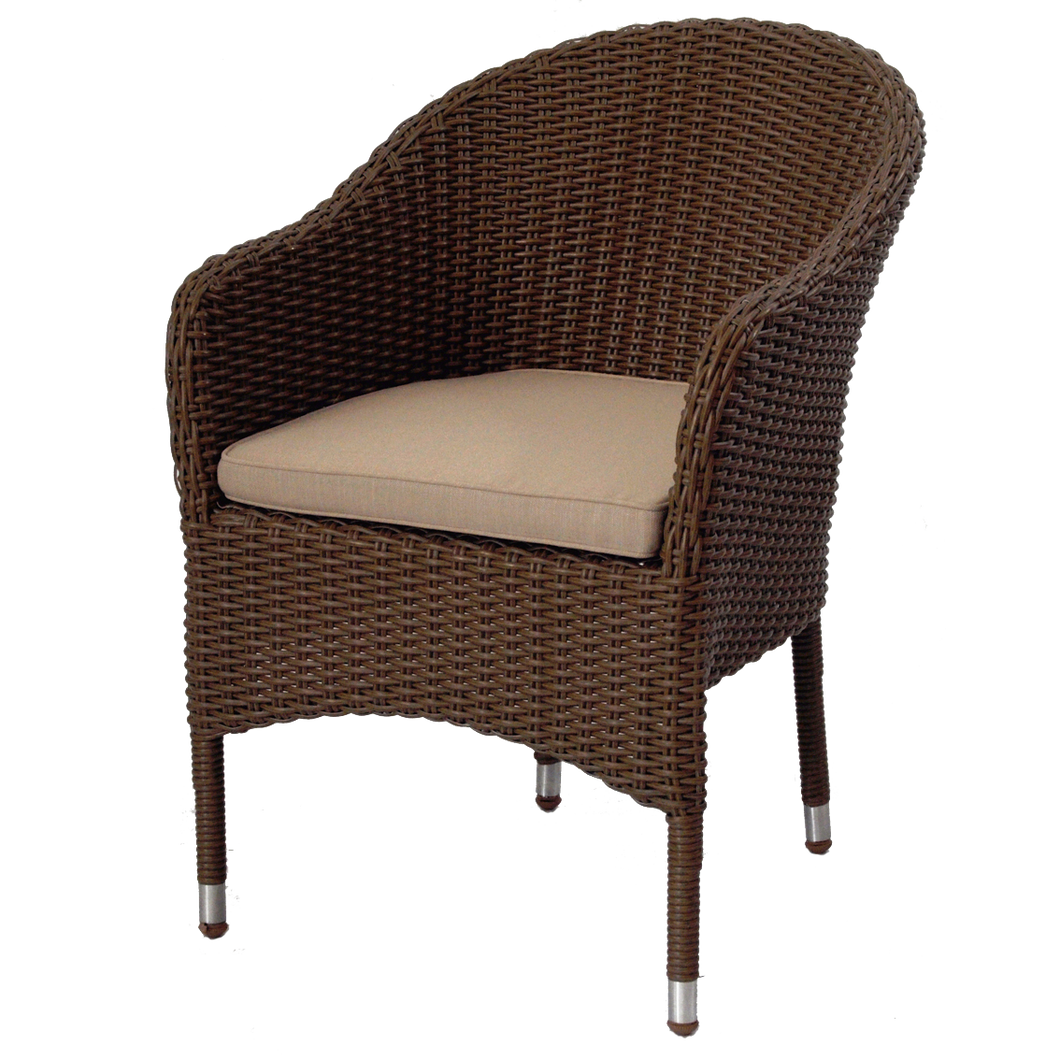 Clifton Hill Outdoor Wicker Stackable Chair
