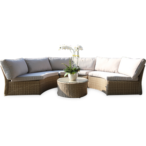 MALVERN - 6 Seaters Outdoor Modular Sofa (Table Not Included)