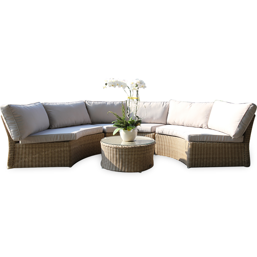 MALVERN - Outdoor Round Coffee Table