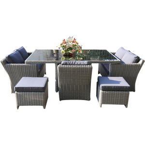 PRE-ORDER ELWOOD - Outdoor Wicker Single Seater Sofa - Furniture Star Direct