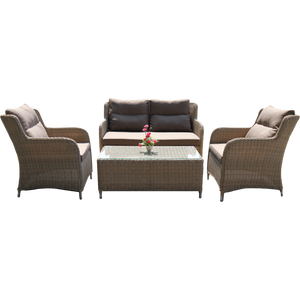MONT ALBERT - Outdoor Single Sofa (Table Not Included)